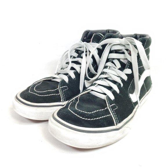 Vans SK8 Hi Skate Shoes Unisex M5 / W6.5 Black